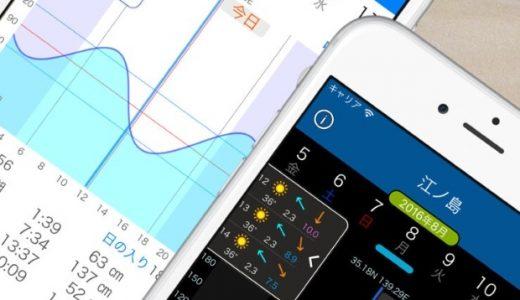 海釣り人必見!おすすめの潮見表アプリはこれ!!