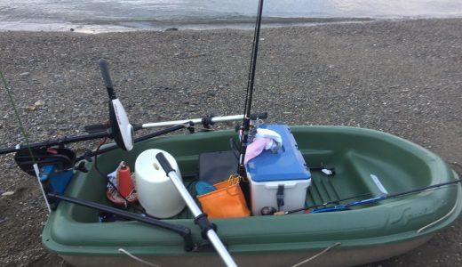 【マジで危なかった】ミニボートエレキ艇でタイラバ!